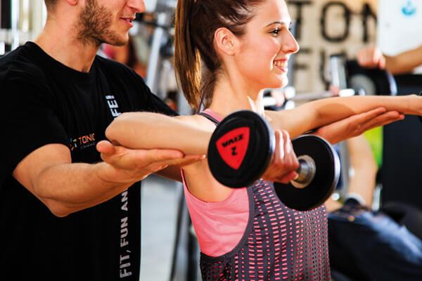 La Formula Tonic Seguitissimo dedicata a chi predilige allenarsi ed essere seguito in Sala Pesi